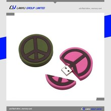 Popular pvc usb flash drive with competetive price