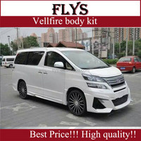 Factory price!!!fiber glass material!!!NEW ARRIVAL!Vellfire Wald style body kit fit for toyota Tested fitment!!!