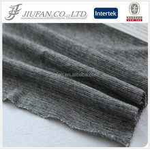 Jiufan Textile Fashionable Knitted Fancy Fabric Cotton Spandex CVC Fabric 70/30 for Clothing