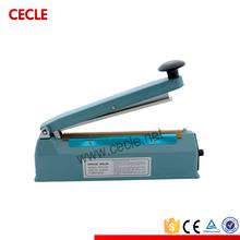 Manual electric plastic bag sealer