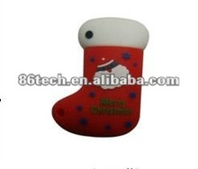Best seller high quality cute PVC usb flash drive for promotion Christmas gift