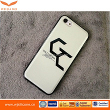 Clear Hard Back Silicone TPU Bumper Cover Case For iPhone 6