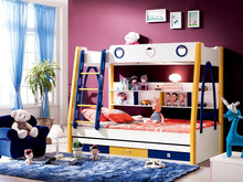 Promotional kids bedroom bunk bed 8628