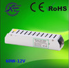 Factory direct sales slim IP20 12v 60w non-waterproof led power supply,dc LED driver