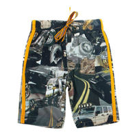 D2709 2-6Y Colorful printed boys board shorts hot sale booty shorts nova kids wear mma shorts