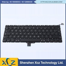 factory dropselling 13.3 inch(2009-2012) cheap a1278 uk keyboard for macbook