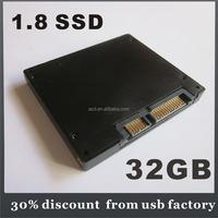 """OEM fast speed 1.8"""" SSD 32GB"""