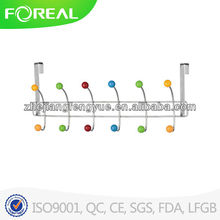 hot sell moved overdoor 6 resin balls clothes hangers wholesale