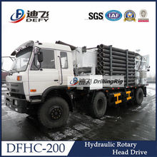 Used truck mounted water well drilling machinery