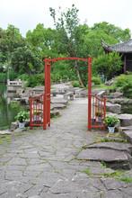 decorative wooden arches wooden garden arch garden pathway gate ALS-7108