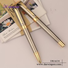 With your logo pint smooth writing twist type pen metal