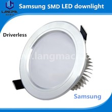 NO driver LED downlight adjustable led down light for clothing lighting commercial lighting