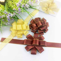 Wholesale 2015 boutique satin ribbon bow pre-made bow, fancy gift bows package bows ribbon bows,ribbon bow