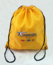 Top recycle cheap drawstring bags for promotion