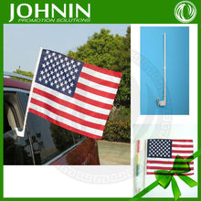 30*45 cm Small size wholesale for all kinds auto use best selling cheaper price car window flags