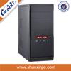 Durable desktop pc horizontal mini ITX case with cpu 3075
