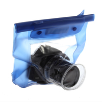 Plastic Camera Case Waterproof Underwater Housing Camera Case Dry Water Proof Bag for Canon 5D/7D/450D/60D