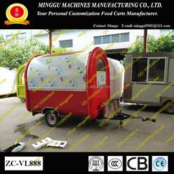 mobile food/pizza/hot dog/noodles/BBQ vending/catering cart/trailer/truck/van/kiosk M-8901