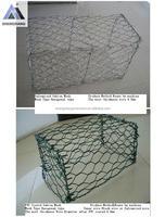 Good Quality Galvanized/PVC Coated Gabion Box Mesh--8CM*8CM;10CM*10CM