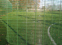 snake welded wire mesh fence
