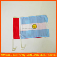 custom international business car window flag