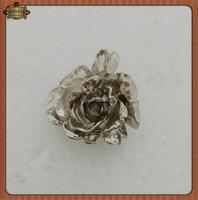 Silver Plating Lapel Pin Custom Rose Pins Flower Lapel Pin