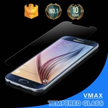 HOT sale !! Extremely transparent screen protector for samsung galaxy s6 tempered glass screen protector
