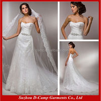 WD-816 Stunning tulle modern indian bridal dresses design indian bridal wedding dress