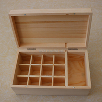 natural wooden essential oil box wholesale