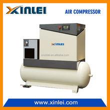 8bar screw air compressor 7.5KW 10HP XLAM10AT-t8 industrial compressor BELT with air tank .