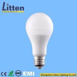 China led bulbs e27 a70 led 11w pass CE ROHS 2 years warranty trade plastic & aluminum led lighting