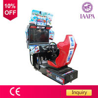CE Approval OutRun electronic car racing video game machine