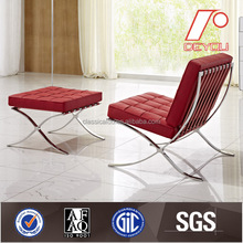 modern leather barcelona sofa, sofa lounge chair SF-505 furniture sofa