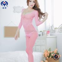 wholesale sex women open transparent bodystocking model