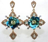 2015 Hotter sale Baroque women earrings fashion vintage women drop earrings high quality