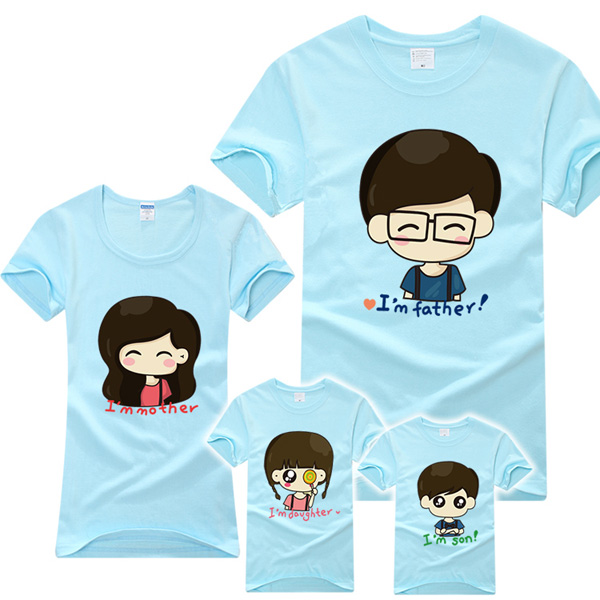 2014 custom special family matching clothing wholesale for Cheap bulk custom t shirts