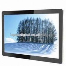 19 inch 1920*1080 resolution wall mounted lcd digital advertising monitor for shopping mall promotions