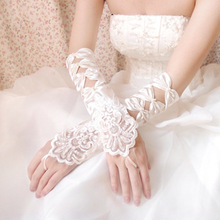 Instyles Lace Bridal Opera party fancy dress Glove elbow length