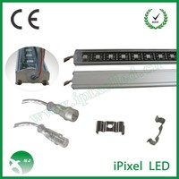 Attractive angle ! Intelligent programmable dmx pixel rgb led light bar for signs 2812b