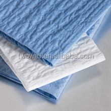 disposable nonwoven industrial cleaning cloth for heavy oil dirty
