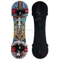 new style 9 layer canadian maple PU wheel mountain board with nice design