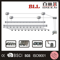 Factory low price popular product aluminum ceiling mounted clothes drying rack