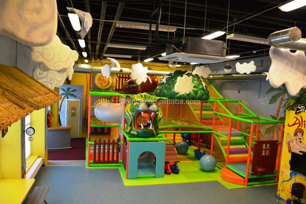 Enfants De Plaine De Jeux Couverte 224 Vendre Avec Jungle