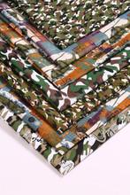 camouflage fabric, designer fabric, print fabric
