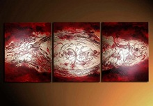 3pcs panel home decorative modern wall artwork stretched canvas oil painting B0057