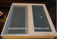 Lastest design frosted glass interior french doors