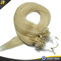 "micro ring loop straight 20"" inch different color brazilian hair weave"