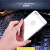 2015 Newest mobile phone covers TPU electroplating mirror case for iphone 6