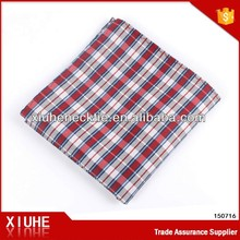 100% Polyester Checked New Patten Handkerchief