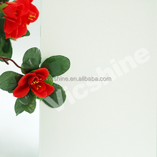 3mm clear white frosted art glass /building frosted art glass with 3C/CE/ISO certificate made in China